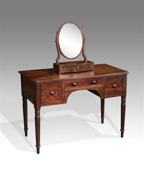 Antique dressing table, mahogany victorian dressing table