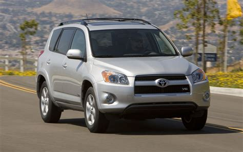 2011 Toyota Rav4 Limited 2011 Toyota Rav4 Limited Front View In Motion 144099 Photo