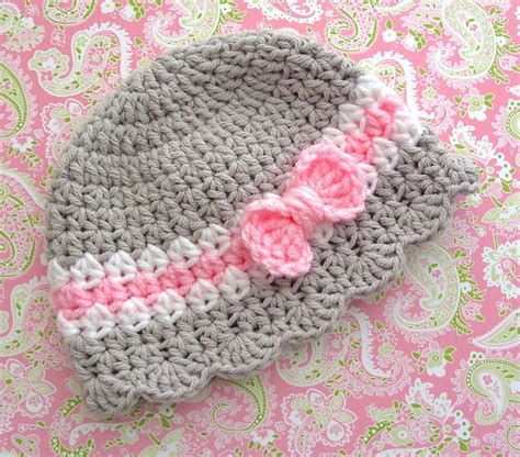 Mizu Sweet Knit By Lisela baby hat with bow pattern 7 pattern by corinne