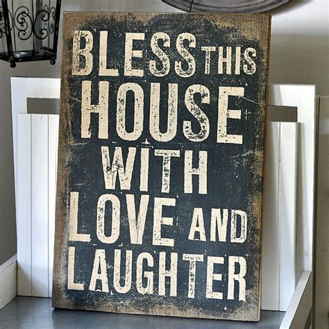 bless this house canvas bless this house with love and laughter la finesse webshop mixin home