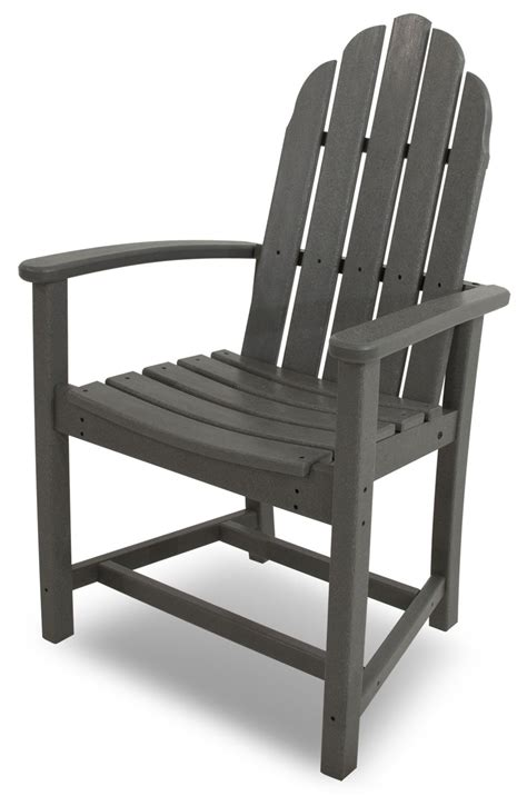 polywood 174 classic adirondack dining chair