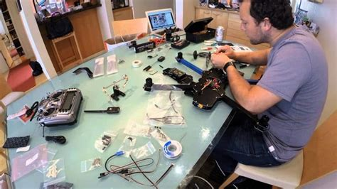 how to build a drone diy project for constructing a drone