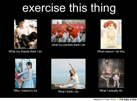 Exercising Memes - memes about exercise