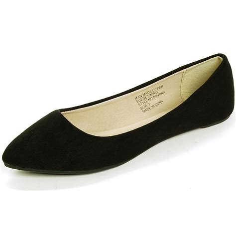 ballet flats shoes alpine swiss lilly s ballet flats pointed toe suede