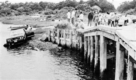Chappaquiddick Bridge July 1969 Photos On This Day In 1969 Kennedy Chappaquiddick New Register