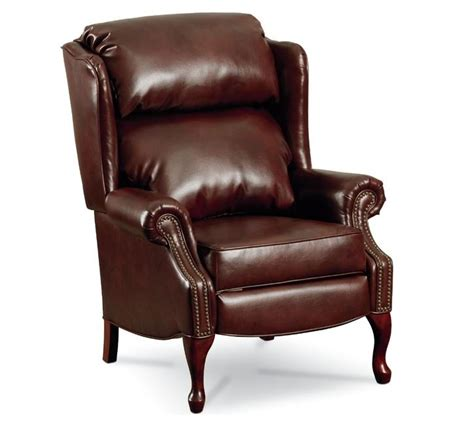 Wingback Reclining Chairs by Leather Wingback Recliner Roselawnlutheran