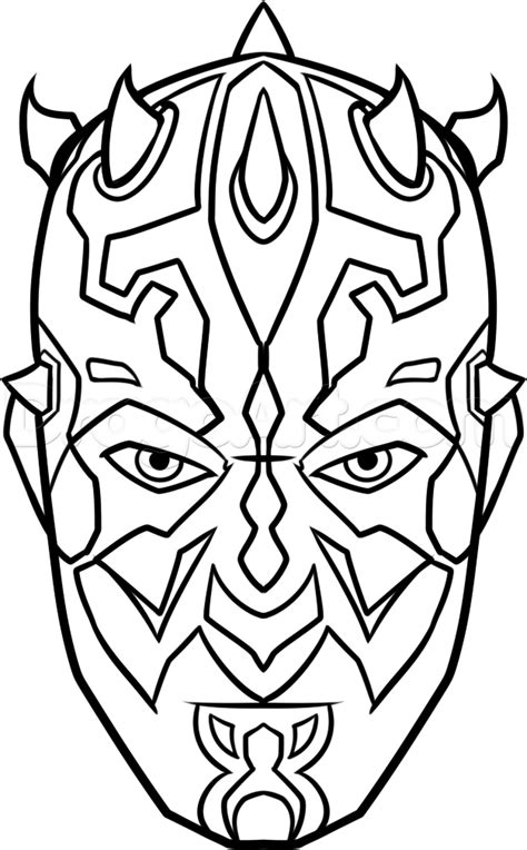 Darth Maul Coloring Pages free coloring pages of darth maul to color in