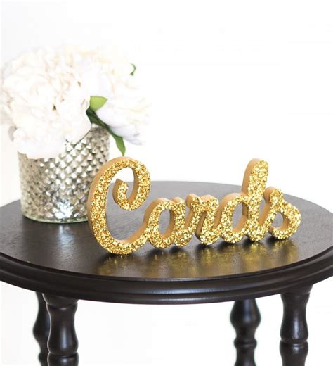Wedding Card Table Decorations