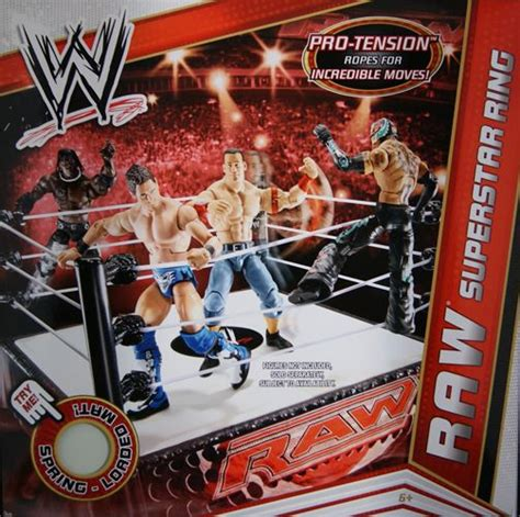 kmart wwe wrestlers wwe raw wrestling ring mattel wwe toy wrestling ring