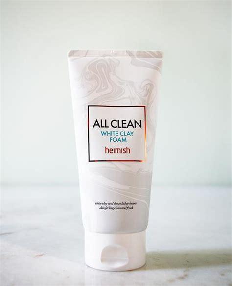 heimish all clean white clay foam heimish all clean white clay foam ohlolly