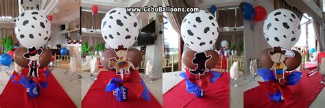 cowboy themed cowboy cebu balloons and supplies