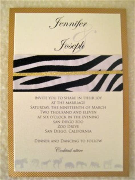 Where Can I Find Wedding Invitations by Where Can I Find Invitations Fit For The Zoo Help A Bee