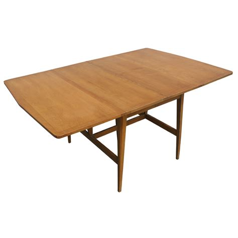 Dining Tables Drop Leaf 7ft Heywood Wakefield Drop Leaf Extension Dining Table