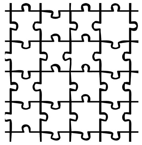 puzzle coloring pages 12