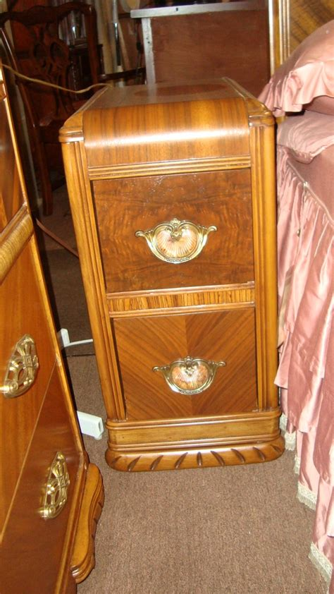 antique deco bedroom set