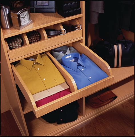 Clothing Drawer Organizers by Pull Out Shirt Drawer Closet Storage