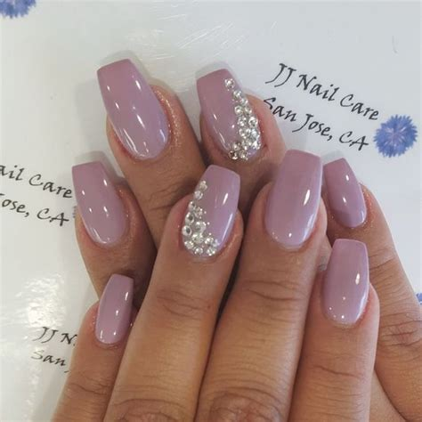 light purple nail light purple gel nails with some applications