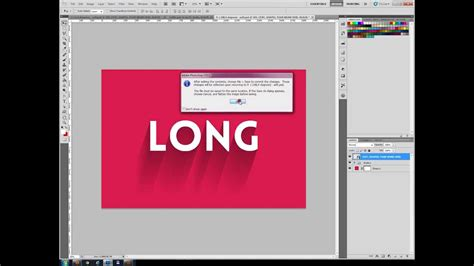 photoshop template long shadow long shadow generator photoshop tutorial how to use it
