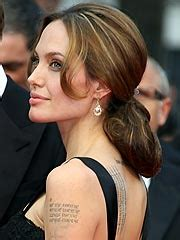 angelina jolie billy bob tattoo remember s billy bob the dis