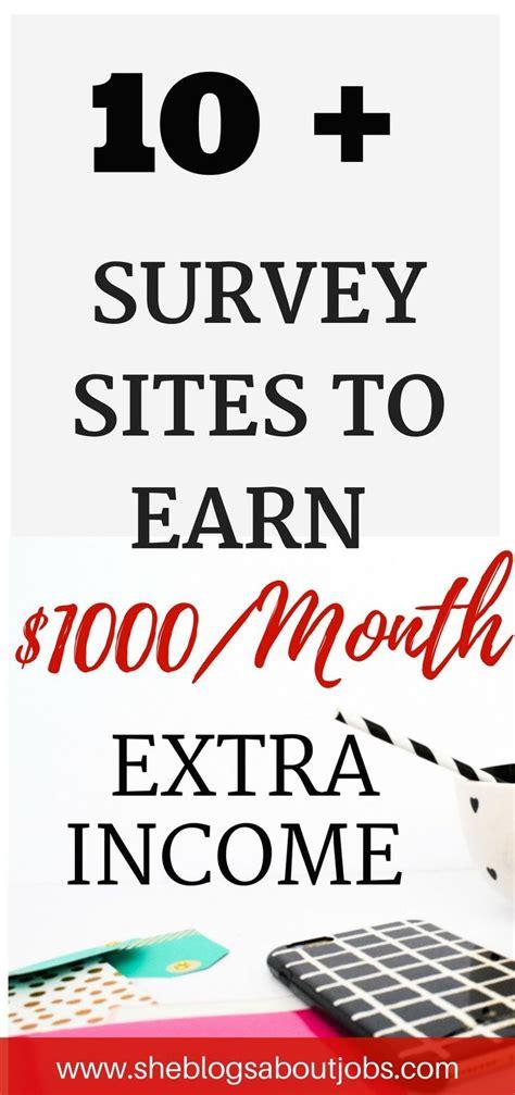 Surveys For Cash Money - best 25 ways to earn money ideas on pinterest making