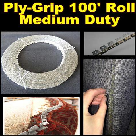 Flexible Metal Upholstery Tack Strip Heavy Duty 3 Prong Ply Grip 10 Yard Upholstery Ebay