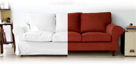 ikea custom slipcovers replacement sofa covers for any ikea sofa beautiful