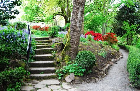 Garden Path Garden Pathway Design Ideas With Some Stones