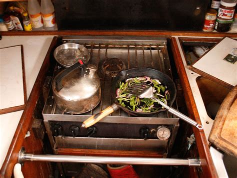 Life at Sea: The Pleasures and Perils of Nautical Cooking
