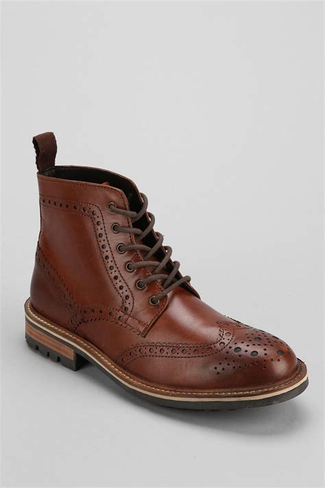 outfitters hawkings mcgill leather wingtip boot in