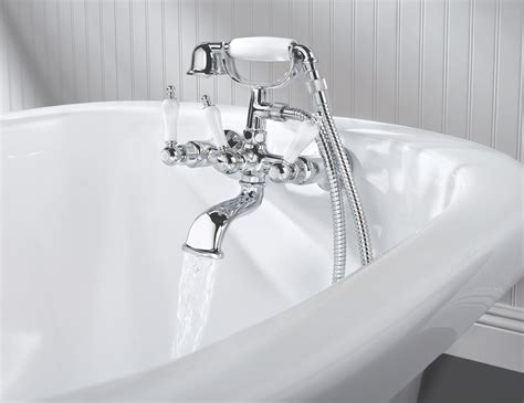 bathtub faucet plumbing ideas for a clawfoot tub faucets the homy design