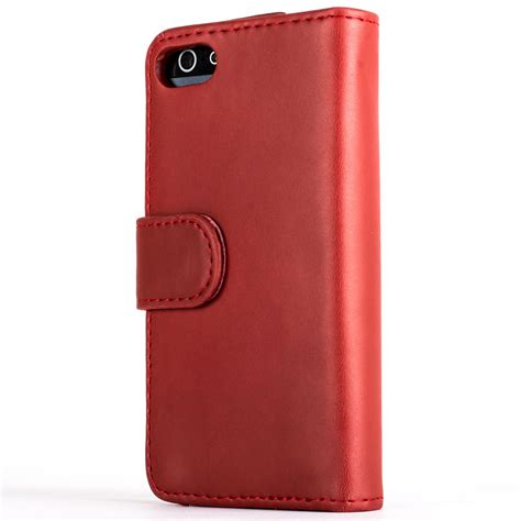 Flip Cover Leather Iphone 55sse snakehive 174 premium leather wallet flip cover for apple iphone 5 5s se ebay