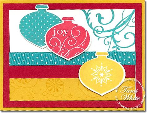 delightful decorations holiday cards stin up