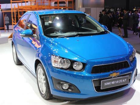 Handel Luar Chevrolet Aveo Sonic chevrolet mengurungkan meluncurkan aveo sedan