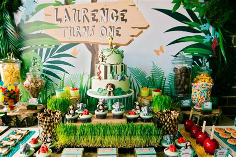 jungle theme decorations frosting safari ideas inspiration