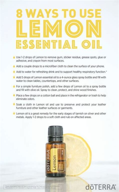 Best Way To Do A Detox Using Essential Oils by Doterra Lemon Essential Uses With Diy And Food Recipes