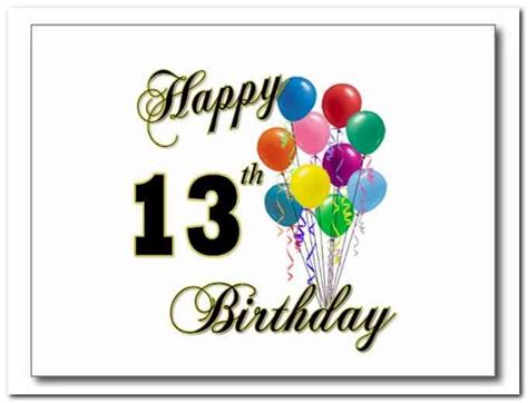 13 Year Birthday Quotes Birthday Quotes For 13 Year Old Niece Birthday Wishes For