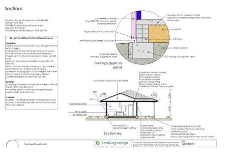 warm temperate passive solar ecoliving design