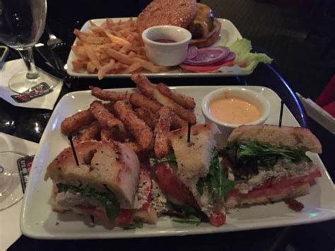chris s crab house crab blt with zucchini fries picture of ruth s chris steak house walnut creek