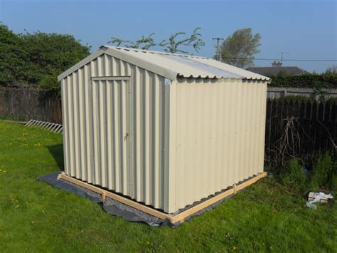 Insulated Outdoor Shed Steel Sheds Ireland Dublin Wicklow Wexford Sheds Fencing