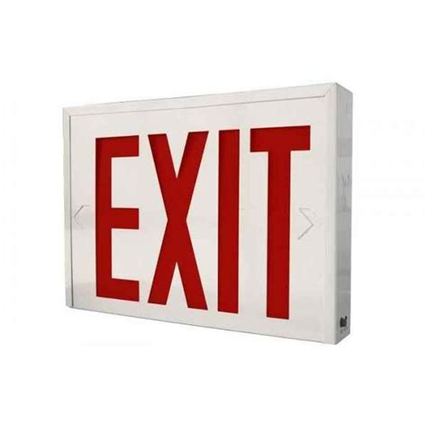 emergency exit lights exit light with led display safety