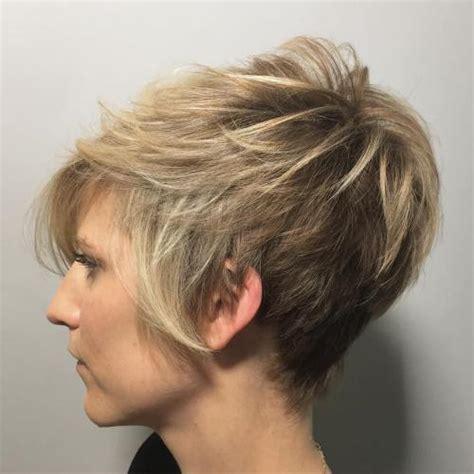 long feathered pixie cut 60 short choppy hairstyles for any taste choppy bob