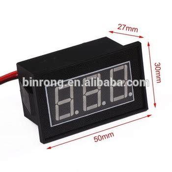 Voltmeter Digital Rizoma Volt Meter Waterproof Slim Min Murah dc 12 24v waterproof digital voltmeter volt panel meter 4 5 30v blue led display buy volt