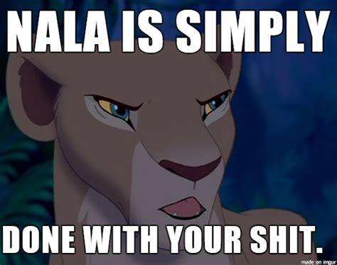 Lion King Cell Phone Meme - lion king nala is done meme by krazykari on deviantart