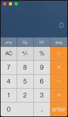 calculator on mac cool mac os x calculator tricks ask dave taylor