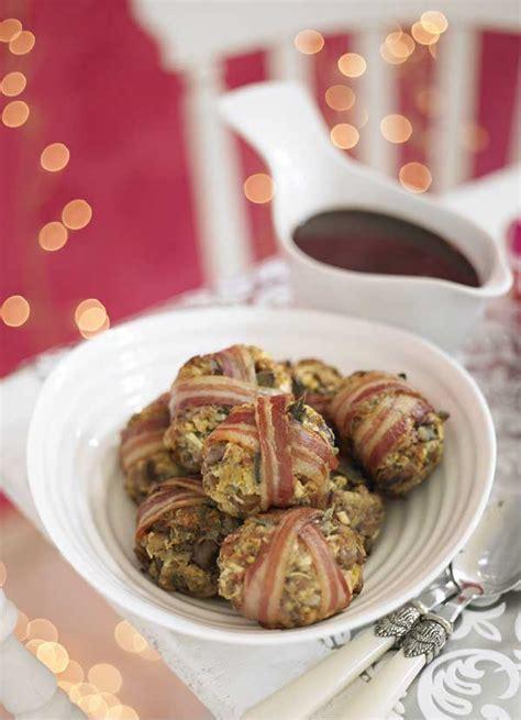 pork sage  chestnut stuffing parcels recipe olive