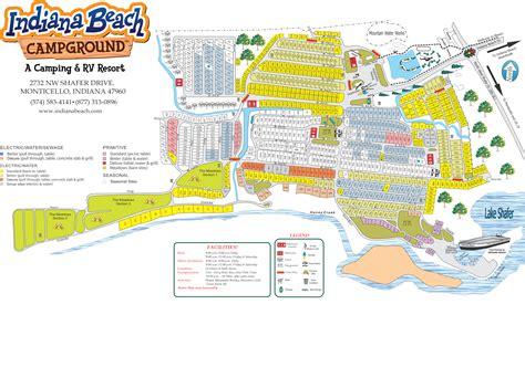 indiana resort map csites indiana c resorts