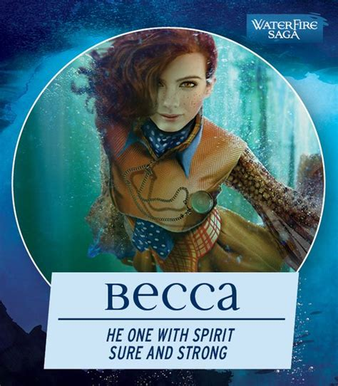 Waterfire Saga i took the waterfire saga quot which mermaid are you quot quiz and discovered that i am most like becca