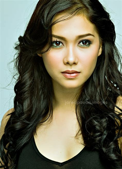 philippine artist hairstyle philippines models gallery maja salvador profile
