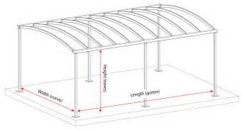 Carport Dimensions by Carport Or Canopy Quotation Kappion Carports Canopies