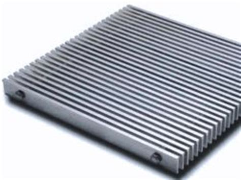 metal mostly aluminum commercial entrance recessed grates